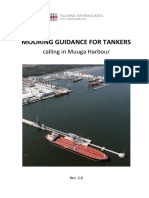 Mooring Guidance for Tankers in Muuga Harbour