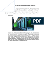 Pilihan Destinasi Unik Dan Bersejarah Kotagede Jogjakarta