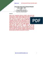 Gambaran Epidemiologi Penyakit Kecacingan1
