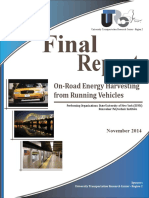 Final Report on Road Energy Harvesting