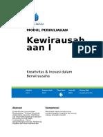 Modul Kewirausahaan I [TM6].doc