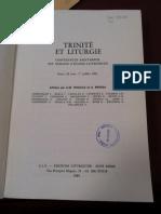 Triacca & Pistoia - Trinite Et Liturgie (Indice)