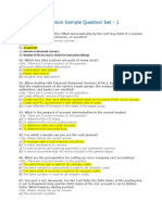SAP FI Certification Sample Question Set