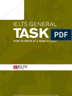 IELTS General Task 1 - How to Write at a 9 Level