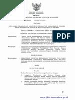 Permenkeu Nomor 160.PMK.05 Tahun 2015 Tata Cara Pelaksanaan APBN pada Perwakilan RI di luar negeri.pdf