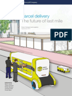 Parcel Delivery the Future of Last Mile