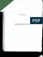 Scelsi - Konx Om Pax