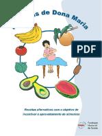 Receitas Dona Maria Receitas Alternativas Aproveitamento Alimentos