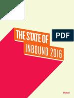 HubSpot State of Inbound Report 2016