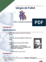 Tetralogia de Fallot. Presentacion