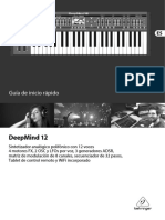 Manual Behringer DeepMind 12 español
