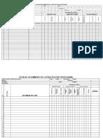 Ficha de Seguimiento Practica pre profesional CETPRO
