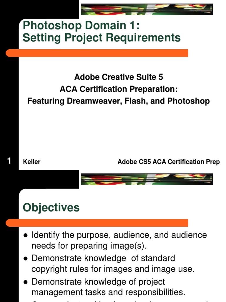 Aca Photoshop Domain 1 Fair Use Copyright