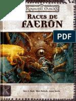 [D&D3][FR] Les Royaumes Oubliés - Supplément - Races de Faerûn