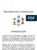 Influencia de La Tecnologia (1)