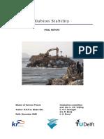 Gabion Stability
