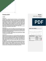 Atualização Cenário Câmbio - Julho 2017
