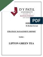 Strategic Management Report