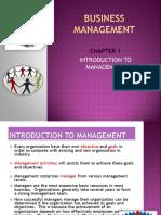 CHAPTER 1management Slide