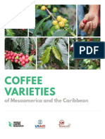 Coffee Varieties of Mesoamerica and the Caribbean