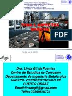 Tema i. Corrosion Aspectos Basicos