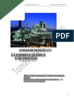 0185 OGIQ UT01 La Empresa Química y de Procesos 2015