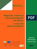 Migração, remessas e desenvolvimento em África