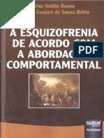 A Esquizofrenia de Acordo Com a Abordagem Comportamental - Gina Nolêto Bueno, Ilma a. Goulart de Souza Britto, 2013 [INDEX] (1)