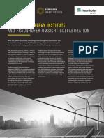 Birmingham Energy Institute - Fraunhofer UMSICHT Collaboration