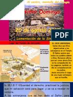 """Vigesimo Domingo Ciclo """"A"""" 20 de Agosto 2017"""