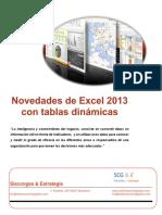 Novedades Excel 2013 Tds