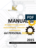 Manual Para Reclutamiento