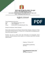 Surat Tugas PKM & RS