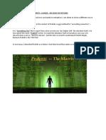 Prakriti- A Visual and Metaphorical Guide
