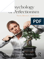 The Psychology of Perfectionism Theory r