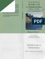 Biologia - Quimica de la Hidrosfera, Origen y Destino de los Contaminantes - FL.pdf