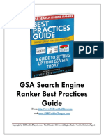 GSA Search Engine Ranker Best Practices
