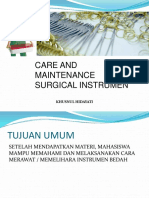 Bu Khusnul - Care and Maintenance Instrumen 2015 (1)