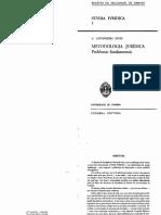 Neves, Castanheira a - Metodologia Juridica