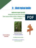 Jardins Forets Climats Tropicaux Humides