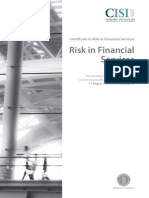 Risk in Financial Services Ed6