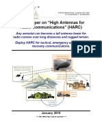 "White Paper on ""High Antennas for"
