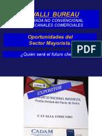 CAVALLI BUREAU UNA MIRADA NO CONVENCIONAL DE LOS CANALES COMERCIALES