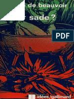 Beauvoir - Fait-Il Bruler Sade.pdf