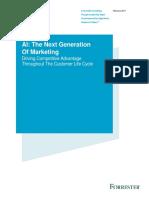 AI the Next Generation of Marketing Final