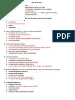Qcm Histologie Total Corrige