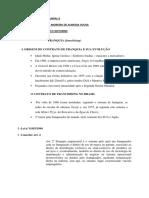 Direito Empresárial I - Franquias