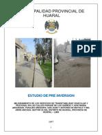 Perfil Pavimimentacion de Pistas y Veredas - Agosto 2017
