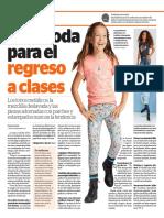 La Opinion/El Diario NY A La Moda Para El Regreso a Clases 8.12.17