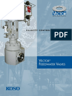 Koso Vector Feedwater Brochure 9-2-09
